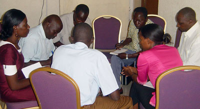 Discussion Group in the Training on Workbook 1